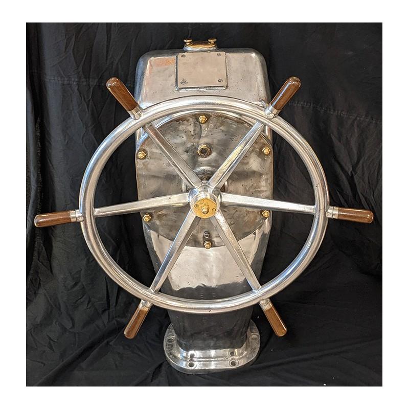 Barre à roue sur fût en aluminium