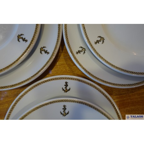ASSIETTES MARINE NATIONALE