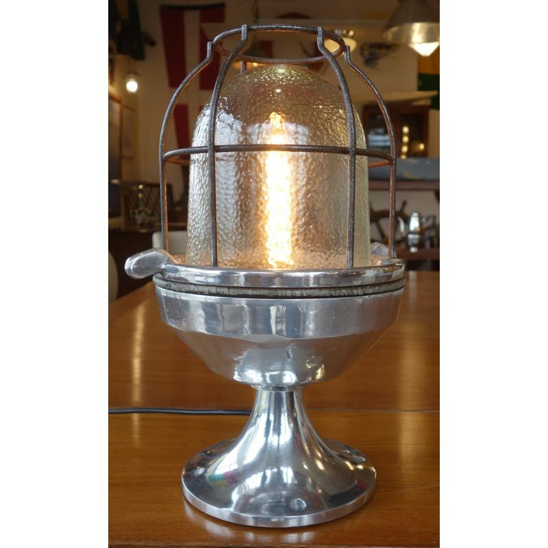 LAMPE EN FONTE D'ALUMINIUM
